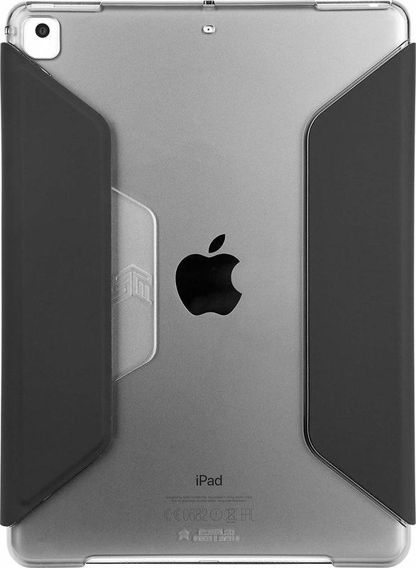 STM: Studio for iPad 5th gen/Pro 9.7/Air 1-2 - Black/smoke