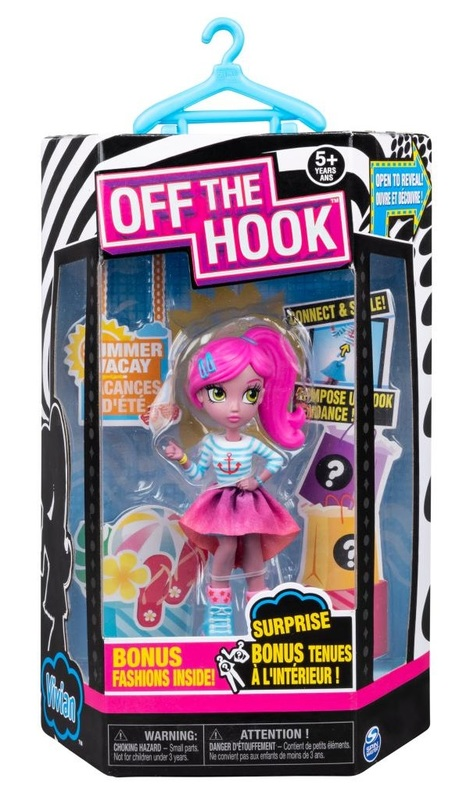 Off The Hook: Style Doll - Summer Vacay (Assorted Designs)