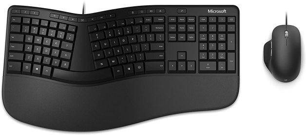 Microsoft Ergonomic Keyboard and Mouse Desktop