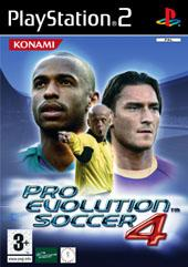 Pro Evolution Soccer 4 for PlayStation 2