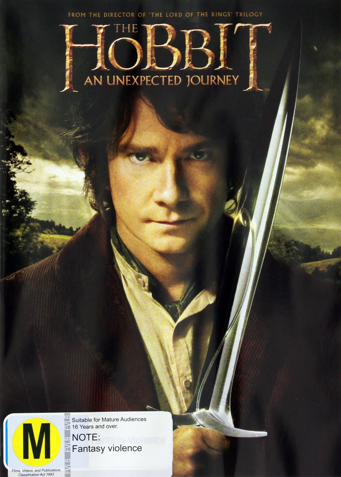 The Hobbit: An Unexpected Journey on DVD image