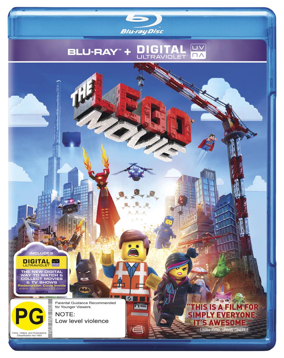 The Lego Movie on Blu-ray image