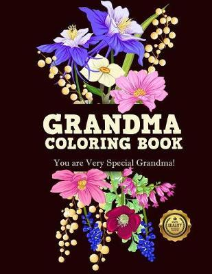 Grandma Coloring Book by Adult Coloring Books image