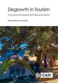 Degrowth in Tourism by Konstantinos Andriotis