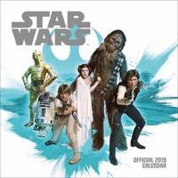 Star Wars Classic 2019 Square Wall Calendar