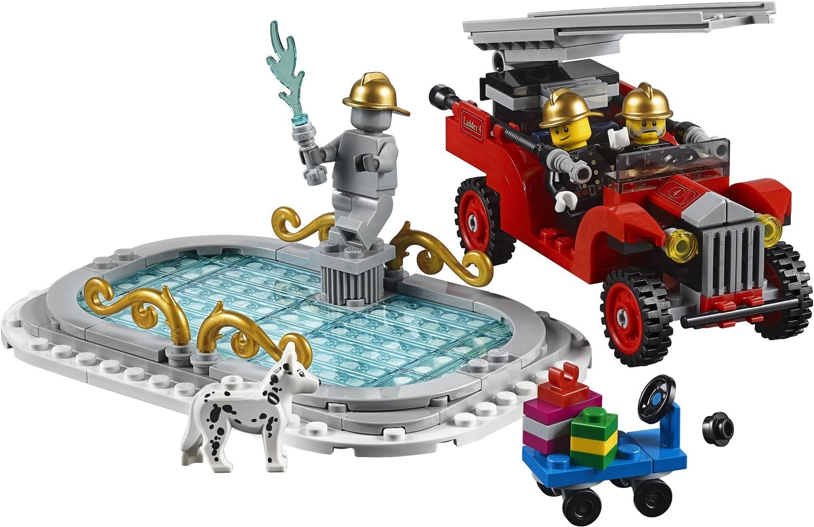 LEGO Creator: Winter Village Fire Station (10263) image