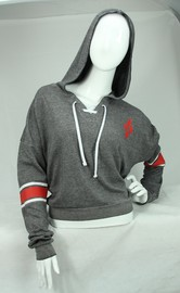 DC Comics: Harley Quinn - Lace-Up Hoodie (Small)