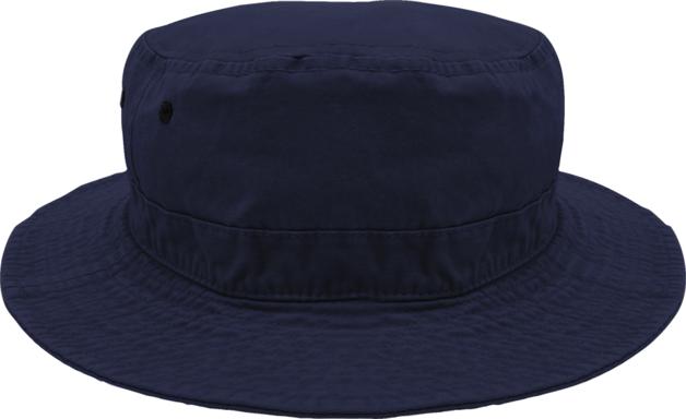 Black Ice: Bruce Bucket Hat - Navy