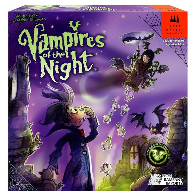 Vampires Of The Night - Board Game