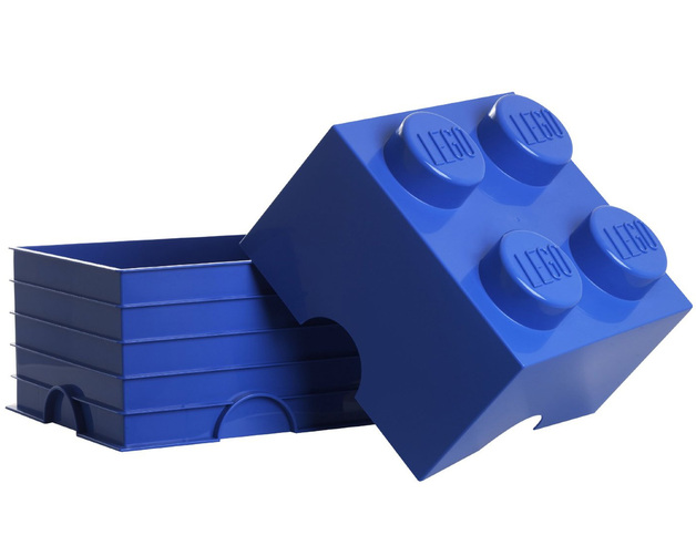 LEGO Storage Brick 4 (Blue)