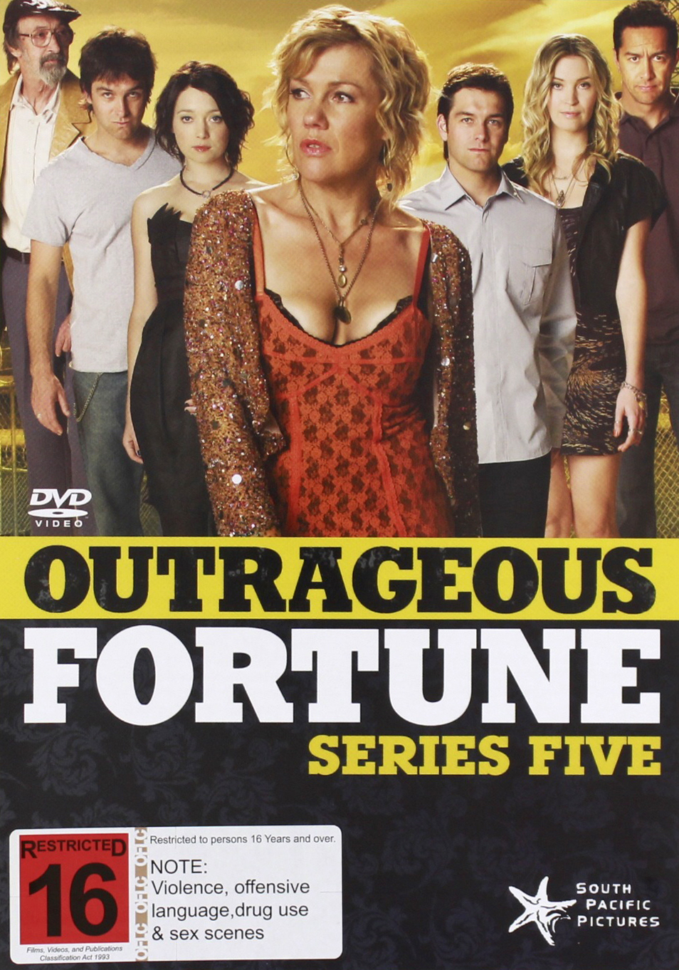 Outrageous Fortune - Series Five on DVD image