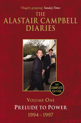 Diaries Volume One by Alastair Campbell image