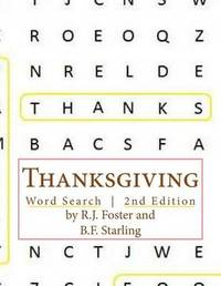 Thanksgiving: Word Search (2nd Edition) by R.J. Foster image
