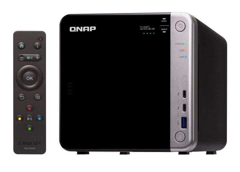 Qnap Ts-453Bt3-8G 4-Bay Nas (No Disk), 10Gbe & Tbolt, 3 W 2X M.2 2280 Sata Ssd Slot,Apollo Lake J3455 1.5-2.3Ghz, 8Gb image