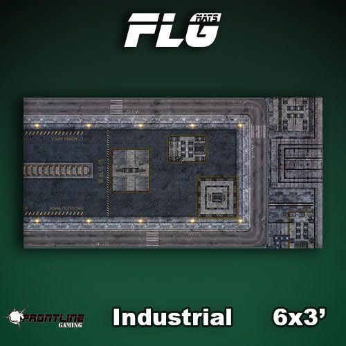 FLG Industrial #1 Neoprene Gaming Mat (6x3)