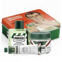 Proraso: 3 Piece Vintage Gift Box Green - Eucalyptus & Menthol