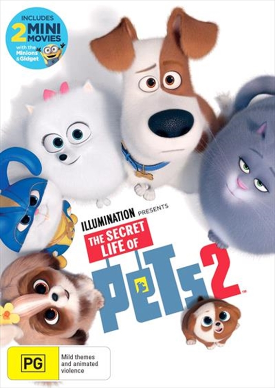 The Secret Life of Pets 2 on DVD