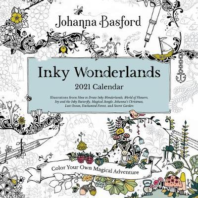 Johanna Basford 2021 Coloring Wall Calendar by Johanna Basford
