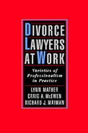 Divorce Lawyers at Work by Lynn Mather