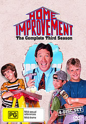 Home Improvement - Complete Season 3 (4 Disc) on DVD