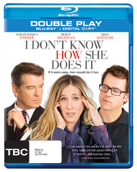 I Don't Know How She Does It - Double Play on Blu-ray, DC