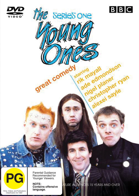 The Young Ones - Series 1 on DVD