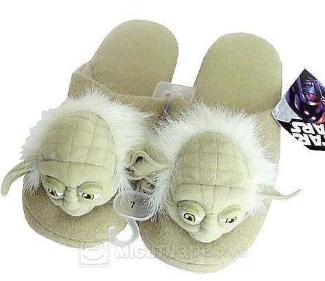 Star Wars Yoda Slippers (Small) image