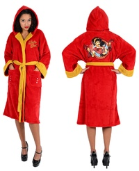 DC Comics Bombshells - Wonder Woman Fleece Bathrobe