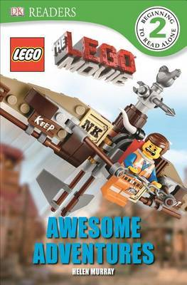 DK Readers L2: The Lego Movie: Awesome Adventures by Helen Murray image
