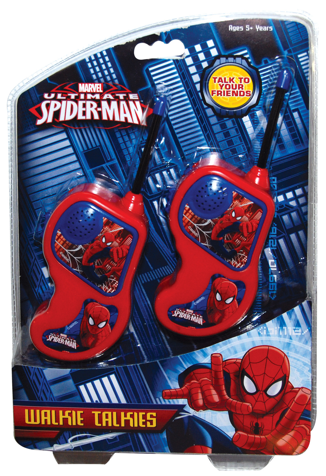 Ultimate Spiderman - Walkie Talkie Set | Toy | at Mighty ...