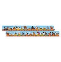 Melissa & Doug: ABC Alphabet Train Floor Puzzle 3 metre image