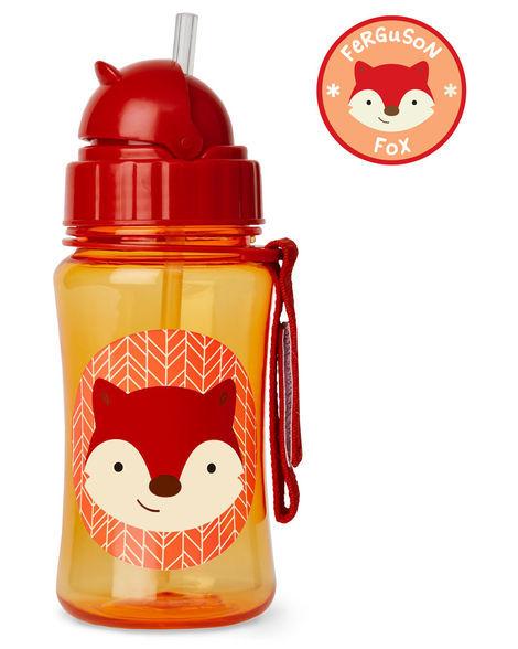Skip Hop: Zoo Straw Bottle - New Fox image