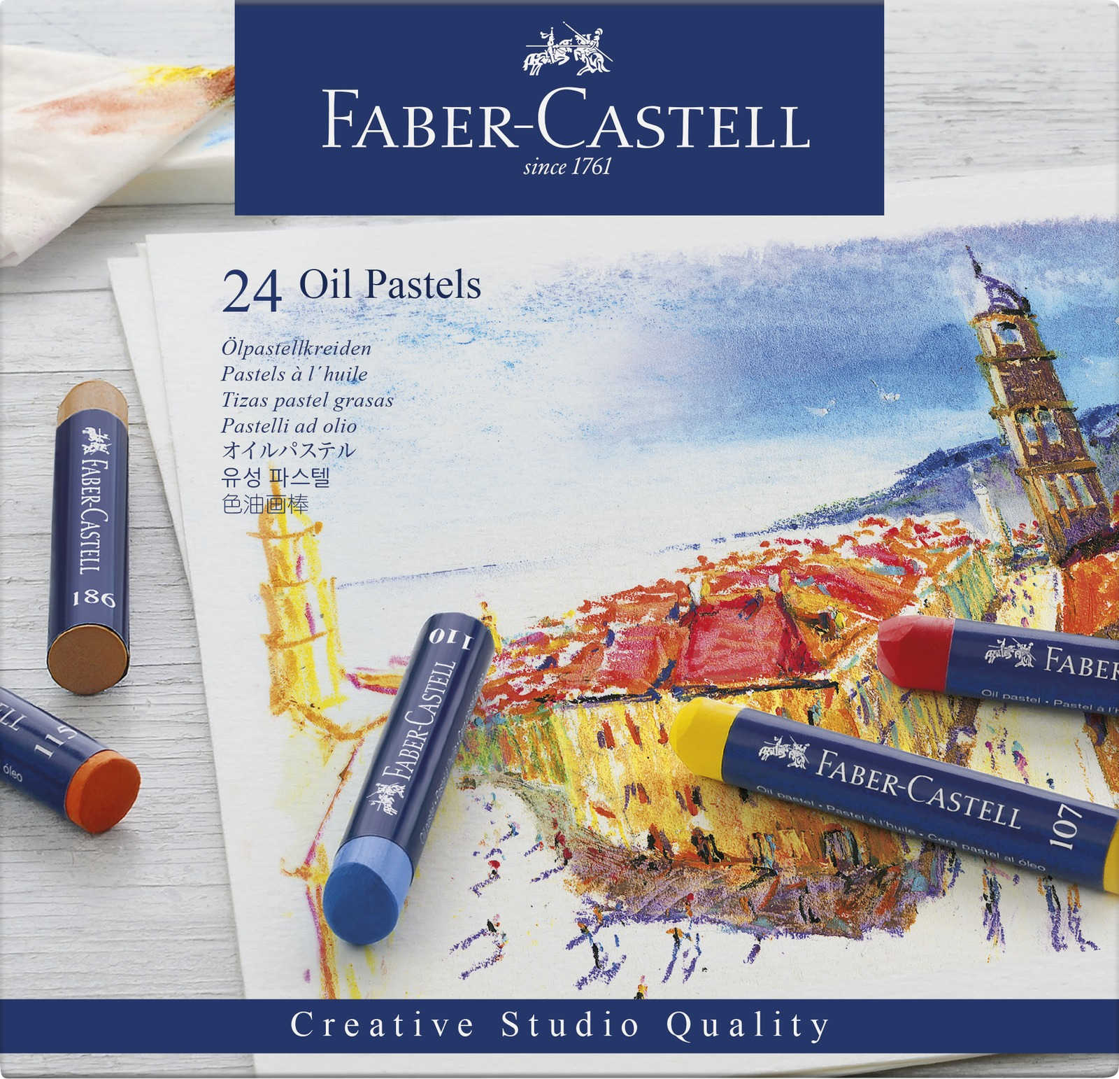 Faber-Casell: Creative Studio Oil Pastel (Set of 24) image