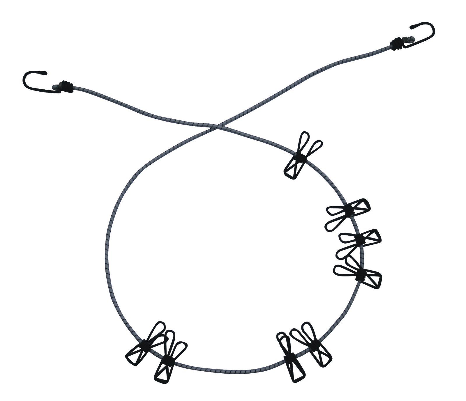 Kiwi 2.5M Expandable Clothes Line With Pegs image