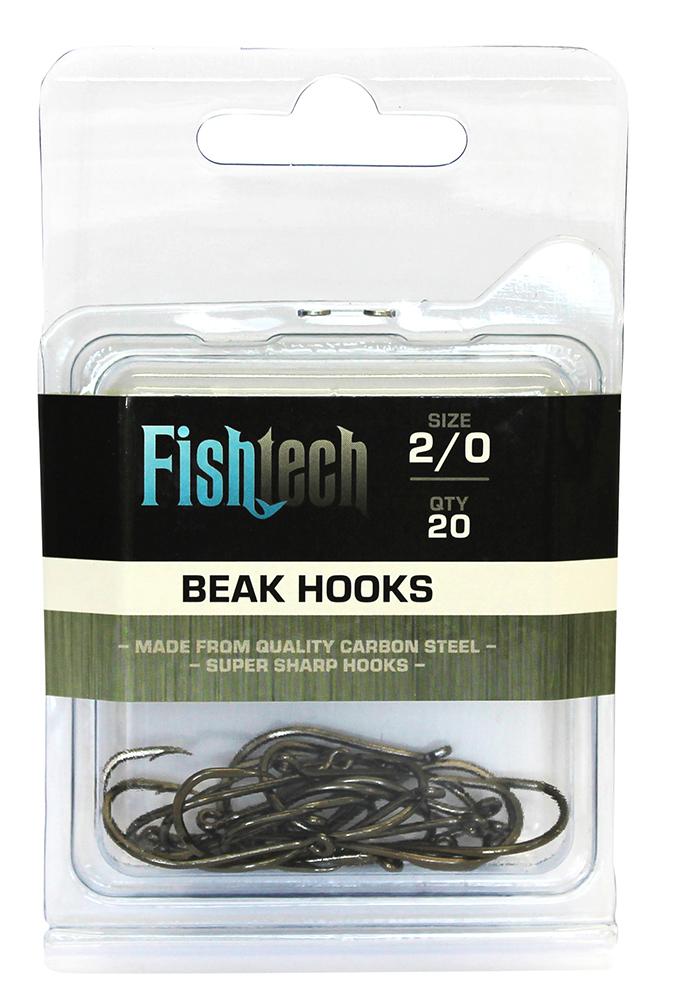 Fishtech Beak Hooks 2/0 (20 per pack) image