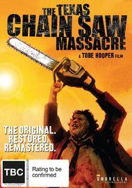 The Texas Chain Saw Massacre on DVD
