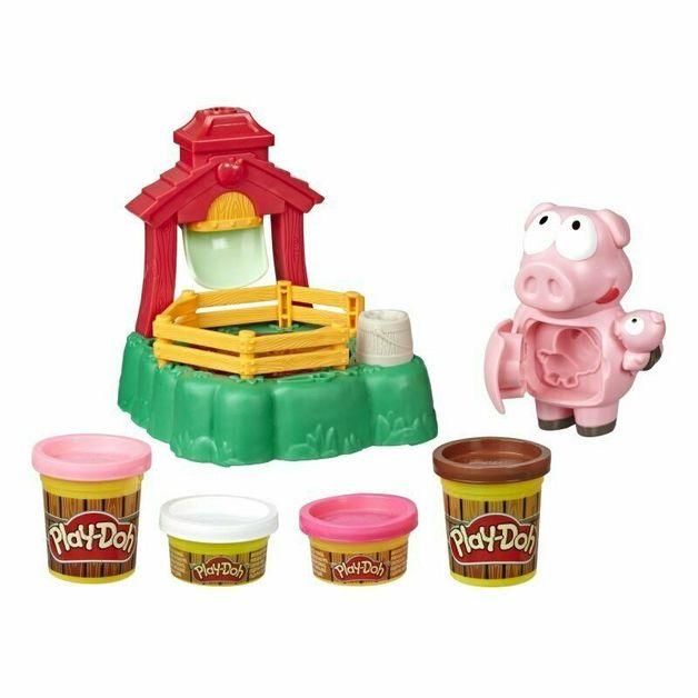 Play-Doh Animal Crew: Pigsley Splashin' Pigs Playset