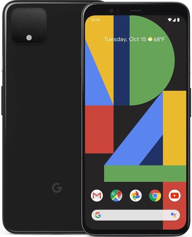 Google Pixel 4 - 64GB (Unlocked) - Just Black image