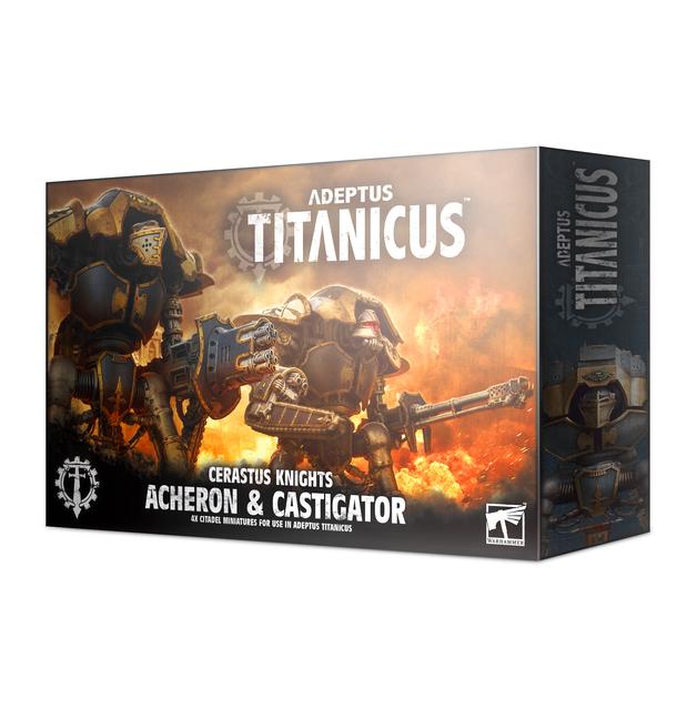 Warhammer 40,000 Adeptus Titanicus: Cerastus Knights Acheron & Castigator