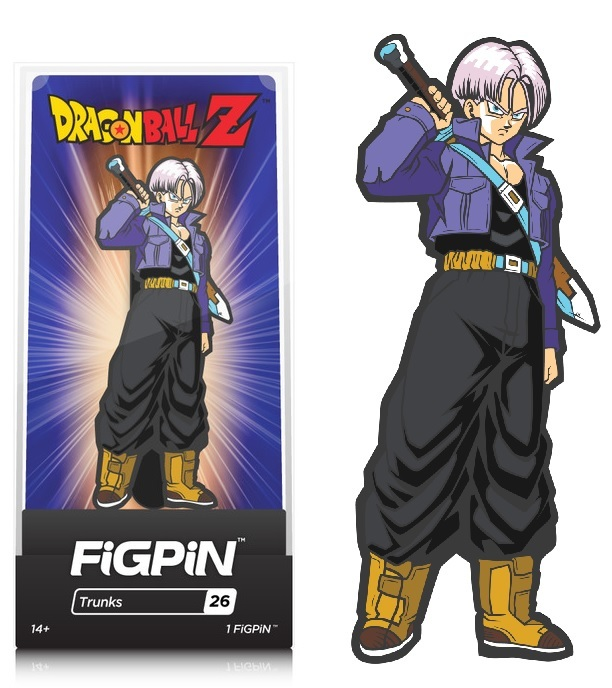 Dragon Ball Z: Trunks (#26) - Collectors FIGPiN