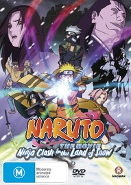 Naruto - The Movie 1: Ninja Clash in The Land of Snow on DVD image