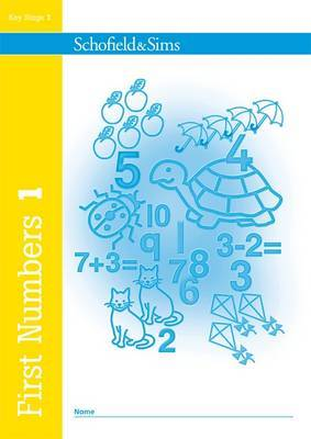First Numbers Book 1 by Anne Evans image