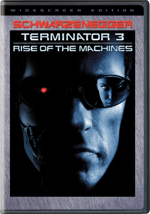Terminator 3 - Rise Of The Machines on DVD