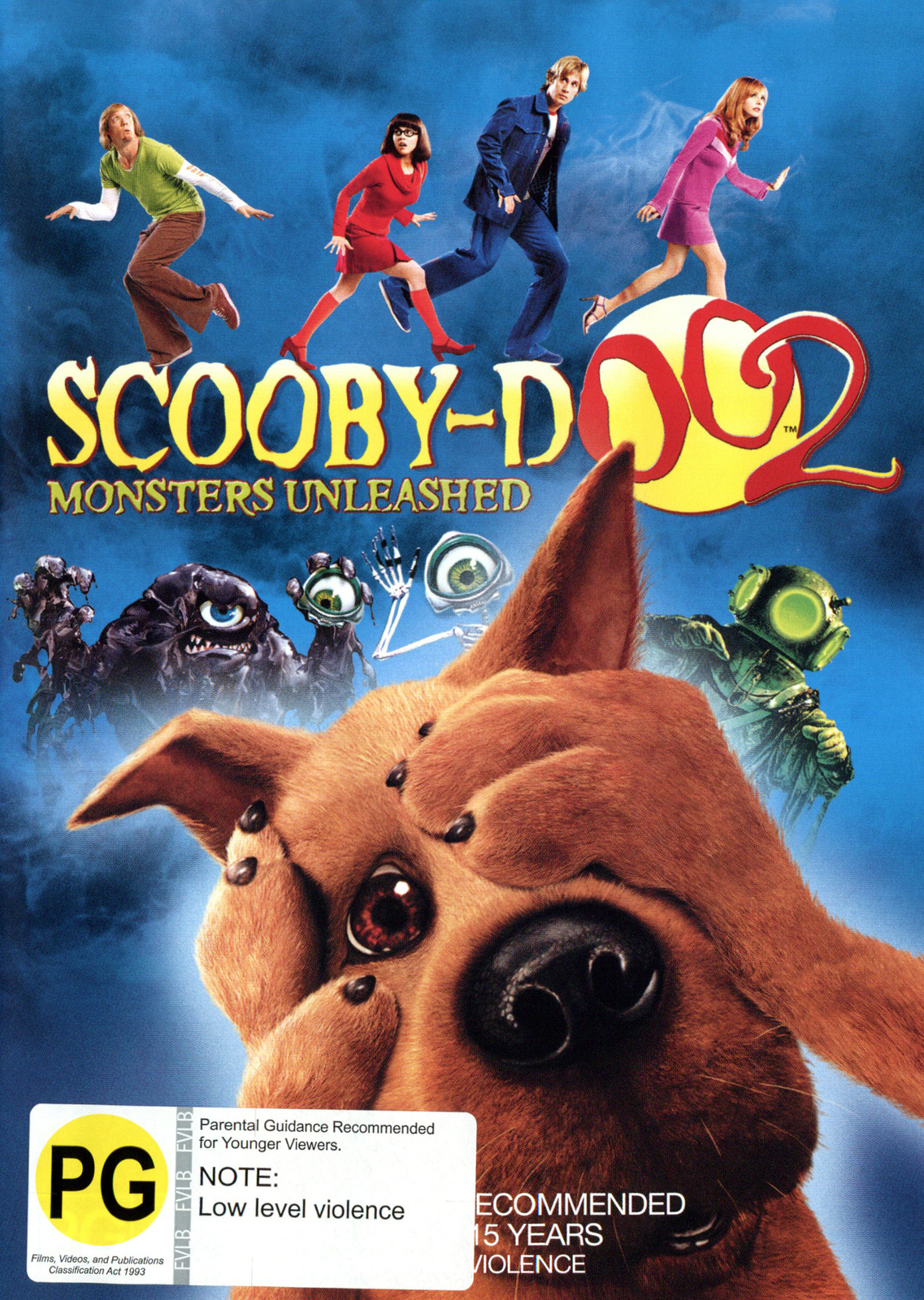 Scooby Doo 2 - Monsters Unleashed on DVD image