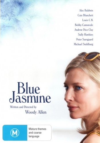 Blue Jasmine on DVD image
