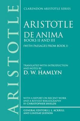 De Anima by * Aristotle