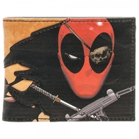 Marvel Deadpool Pirate Bifold Wallet