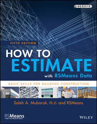 How to Estimate with RSMeans Data by RSMeans