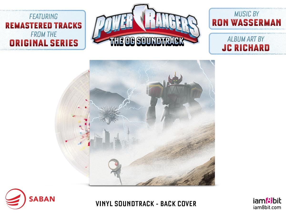Power Rangers: The OG Soundtrack (LP) by Ron Wasserman image