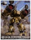 Robotech: 1/72 SDR-04-MkXII Destroid Phalanx - Model Kit